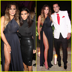 Khloé & Kim Kardashian Bring The Family Together To Celebrate French Montana's Birthday!
