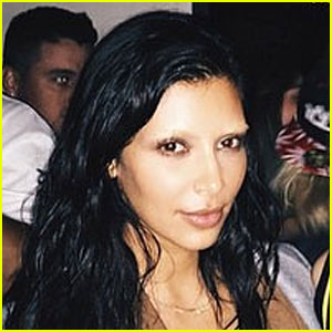 Kim Kardashian Debuts Shocking Bleached Eyebrows (Photos)
