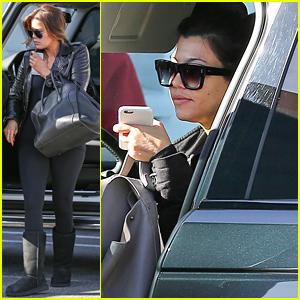 Kourtney Kardashian Fuels Rumors of Scott Disick Relationship Troubles