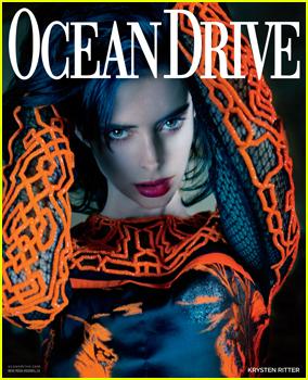 Krysten Ritter Gushes About Boyfriend Adam Granduciel In 'Ocean Drive' Magazine