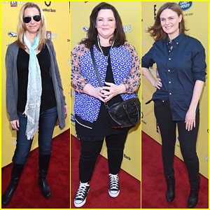 Lisa Kudrow & Melissa McCarthy Are Funny Ladies at Express Yourself 2014
