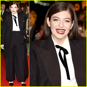Lorde Hits 'The Hunger Games: Mockingjay' Premiere - Her Very 1st Movie Premiere!