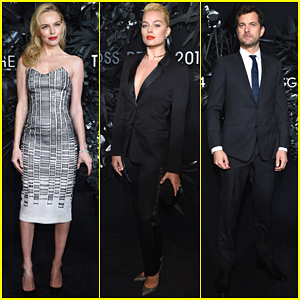 Kate Bosworth & Margot Robbie Are Beautiful Blondes at Hugo Boss Prize 2014
