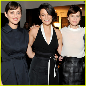 Marion Cotillard & Felicity Jones Talk About Their Work at the Variety Studio