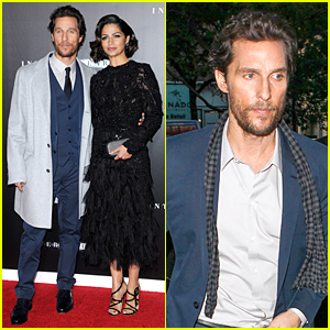 Matthew McConaughey & Camila Alves Are Picture Perfect Couple at 'Interstellar' NYC Premiere