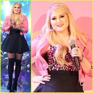 Meghan Trainor Performs a Medley on 'DWTS' Finale! (Video)