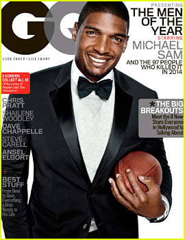 First Openly Gay NFL Player Michael Sam Named a Man of the Year By 'GQ,' Gets Own Suave Cover!