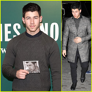 Nick Jonas Gave Fans Hot Chocolate to Warm Up in Cold NYC