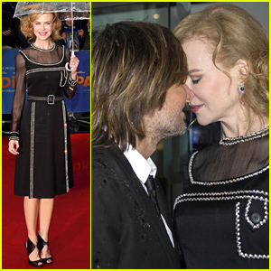 Nicole Kidman & Keith Urban Share Passionate Kiss at 'Paddington' Premiere!