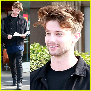 Patrick Schwarzenegger Steps Out After Kissing Miley Cyrus!