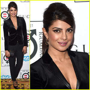 Priyanka Chopra Goes Glam in Gucci for Equality Now