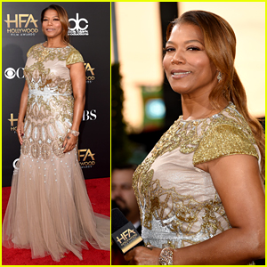 Queen Latifah Is Hostess with the Mostest at Hollywood Film Awards 2014