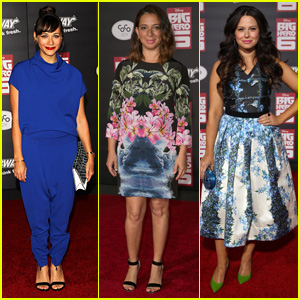 Rashida Jones Rocks Royal Blue for 'Big Hero 6' Premiere