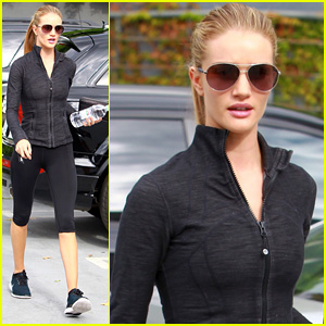 Rosie Huntington-Whiteley Works Out So She Can Enjoy Food