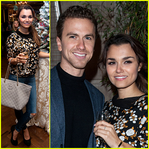 Les Miserables' Samantha Barks & Boyfriend Richard Fleeshman Are Totally in the Holiday Spirit!