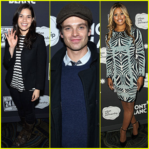 America Ferrera & Sebastian Stan Support Urban Arts Partnership at 24 Hour Plays Benefit