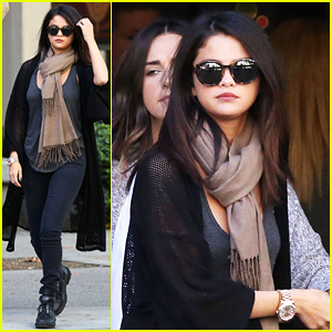 Selena Gomez Steps Out After Calling the Police For a Suspected Intruder!