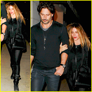 Sofia Vergara & Joe Manganiello Are One Hot Couple During a Date Night