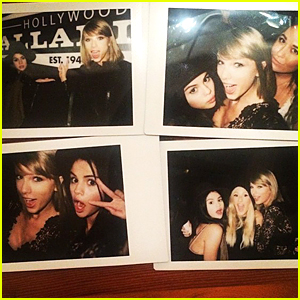 Taylor Swift & Selena Gomez's Polaroids at the 1975 Concert Are the Cutest Thing Ever