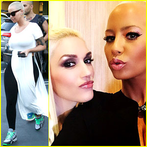 Amber Rose Says Gwen Stefani is Life in a New Pic