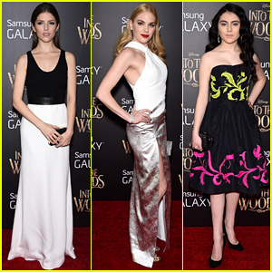 Anna Kendrick & Her 'Into the Woods' Co-Stars Arrive for the World Premiere!