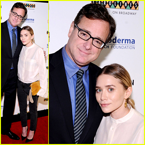 Ashley Olsen Reunites with 'Full House' Dad Bob Saget!