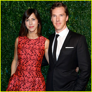 Benedict Cumberbatch & Fiancee Sophie Hunter Look So in Love at London Evening Standard Theatre Awards 2014