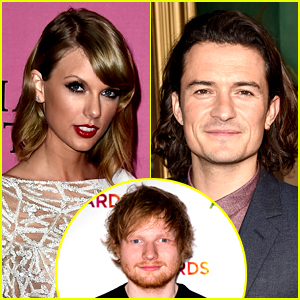 Taylor Swift & Orlando Bloom Should Date, Says Ed Sheer