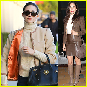 Emmy Rossum Opens Up On Sex in Hollywood - Watch Now!