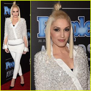 Gwen Stefani is White Hot at People Magazine Awards 2014