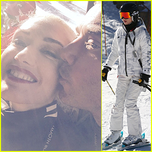 Gwen Stefani Gets Sweet Kiss From Adoring Husband Gavin Rossdale