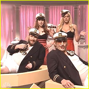 James Franco & Seth Rogen Are Sexy Sailors in 'Saturday Night Live' Sketch - Watch Here!