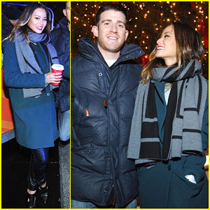 Jamie Chung & Bryan Greenberg Get Festive for NYC Tree Lighting!