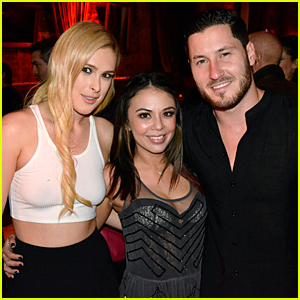 Janel Parrish Returns to 'For the Record' with Val Chmerkovskiy's Support!