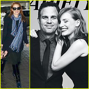 Jessica Chastain & Mark Ruffalo Get to Know Each Other More For 'Variety'