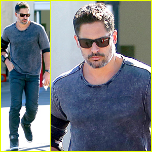 Joe Manganiello Steps Out After Getting Engaged to Sofia Vergara!
