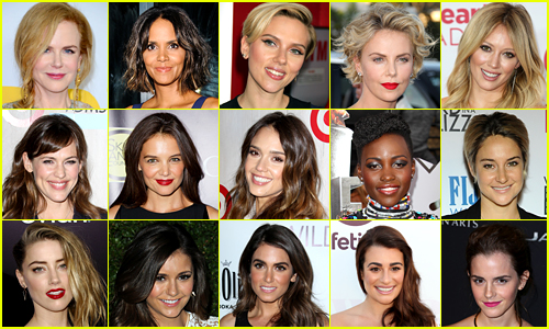 Just Jared's Most Popular Actresses 2014