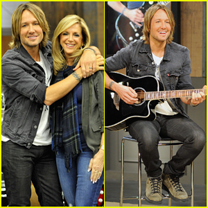 Keith Urban Launches His Deluxe 'Player' Guitar Collection at HSN with Joy Mangano!