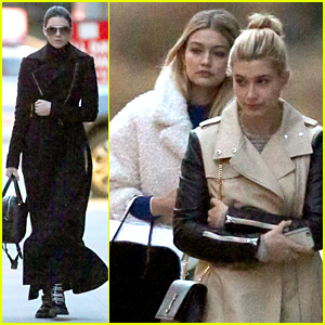 Kendall Jenner, Gigi Hadid, & Hailey Baldwin Mix Business with Pleasure