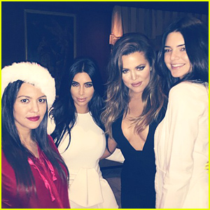 Kardashian Night Out! Kim, Kourtney, Khloe Plus Kendall & Kris Jenner Party Together for the Holidays!