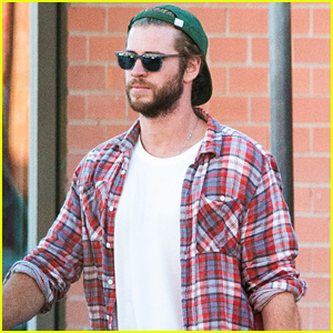 Liam Hemsworth Picks Up Beer with His Buddy in Australia