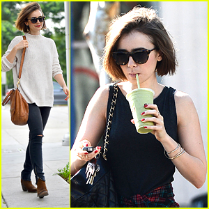Lily Collins Gives Best Shout Out To Her Friends: 'They Keep Me Super Grounded'