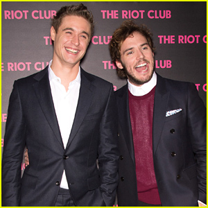 Sam Claflin & Max Irons Look Like They're Having the Best Time Together!