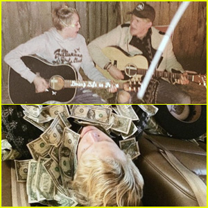 Miley Cyrus Plays a Prank on Pal Cody Simpson Before Jamming Out to Johnny Cash Together