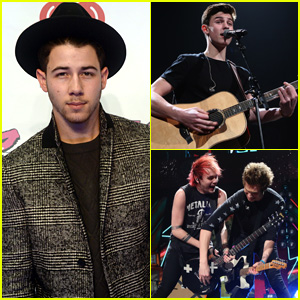 Nick Jonas Goes All Out With Pizza for 'Cheat Day' Before Performing at Jingle Ball Boston