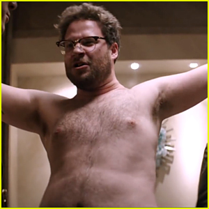 Seth Rogen Gets Stripped Shirtless in 'The Interview' Final Trailer - Watch Now!