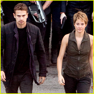 Shailene Woodley & Theo James Are Back to Work on 'Insurgent'