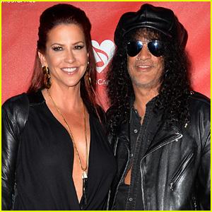 Rocker Slash Files for Divorce From Perla Hudson After 13 Years