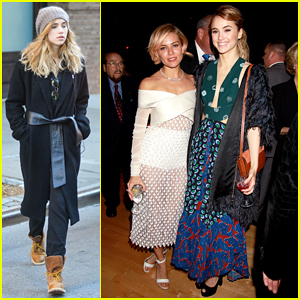 Suki Waterhouse Supports Boyfriend Bradley Cooper, Meets Up with Sienna Miller at 'American Sniper' After Party!