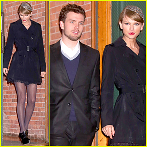 Taylor Swift & Brother Austin Are the Best Dressed Siblings at Formal Holiday Dinner